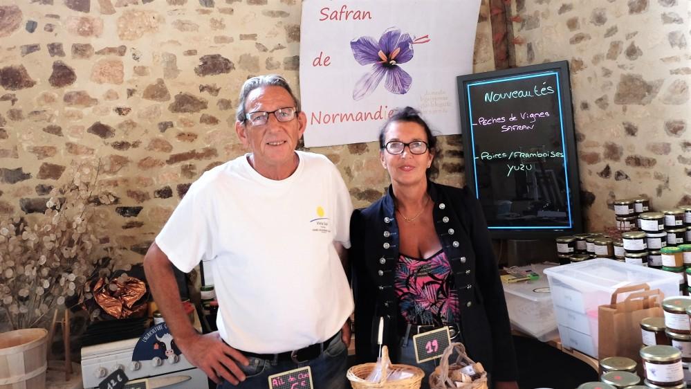 safran de Normandie producteur de Safran en Normandie Gourmand et curieux 2018