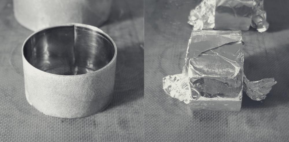 montage cercle feuille de brick