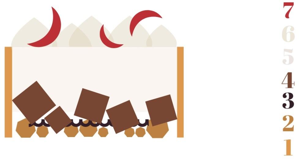 recette patisserie de la saint valentin chocolat blanc pomme et praliné montage du dessert