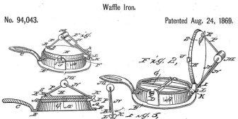 gaufrier recette de gaufre ancienne waffle blog patisserie gourmand et ccurieux 2020
